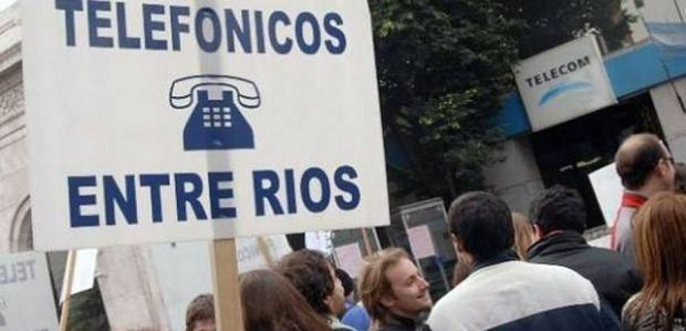 Los telefónicos piden un 35 por ciento de incremento salarial