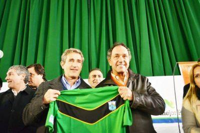 Pinamar: Emotiva jornada en el Polideportivo