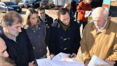 Avanzan las obras para evitar inundaciones en La Plata