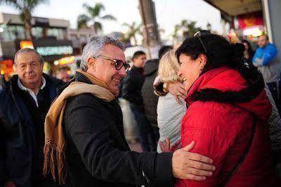 Julio Zamora caminó Pacheco e inauguró un local del FR