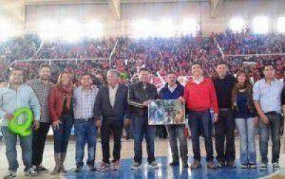 Con la Estudiantina se lanzó el Boleto Estudiantil Gratuito