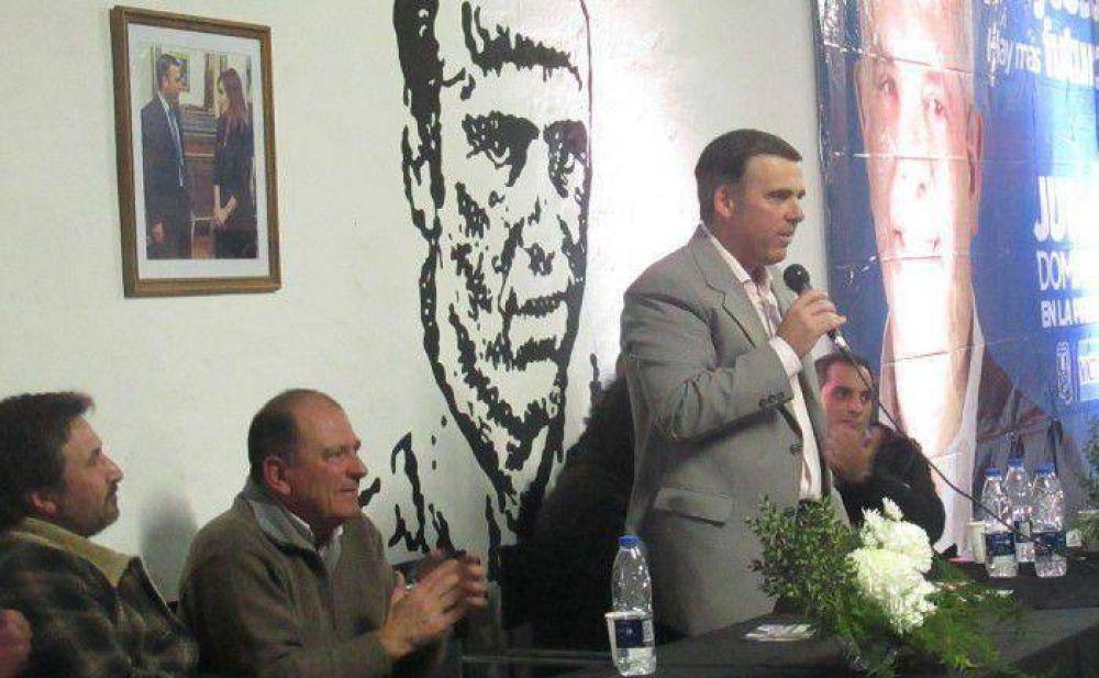 Tellechea, precandidato a intendente del FpV