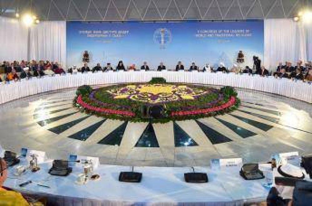 Cumbre internacional de religiosos insta a la paz