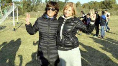 Ana Castagneto se bajó y apoya a Florencia Saintout