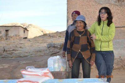 Catamarca Minera y Desarrollo Social realizaron entregas en Minas Capillitas