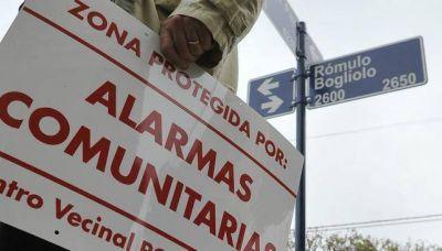 250 barrios ya están alarmados
