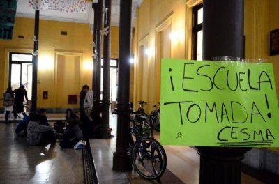 Ocho colegios porteños tomados contra la nueva secundaria en la Ciudad