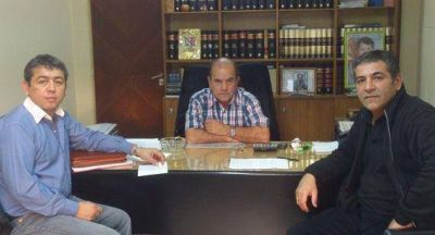 La Gerencia Distrital de Caleta Olivia se reunió con Osorio