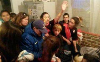 Maradona revolucionó Luján: Fue a ver jugar a su novia Rocío Oliva