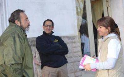 9 de Julio: La precandidata Marianela López visitó French