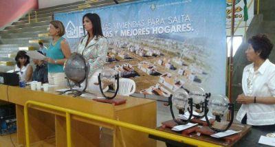 El IPV sorteará viviendas entre más de 100 familias de El Galpón