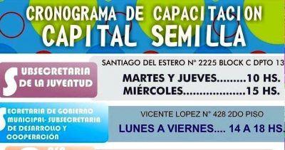 """""""Capital Semilla"""": salteños ya pueden aprender a potenciar sus proyectos productivos"""