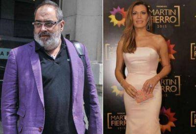 Jorge Lanata, �cido con Flor de la V: �Se le nota el micr�fono�