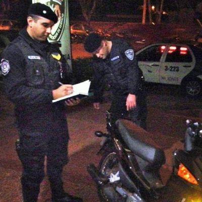 Lo detuvieron por la sustracci�n de una motocicleta en San Vicente