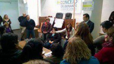 """Brizuela y Doria: """"El trabajador municipal será nuestro principal aliado"""""""