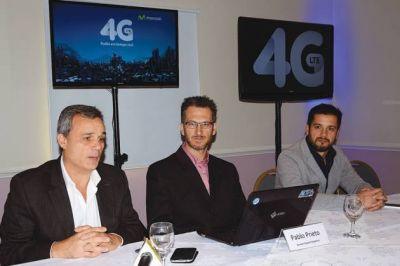 Movistar lanzó la tecnología 4G para Comodoro Rivadavia y Rada Tilly