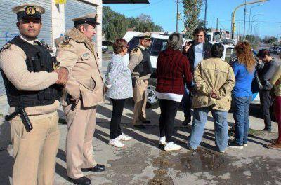 Belisario Roldán y Centenario, los barrios custodiados por Prefectura