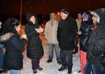 Ríos y Crocianelli inauguraron el tendido de redes eléctricas que beneficiará a 70 familias