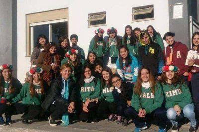Alumnos de la Escuela Normal de La Banda concretaron una importante propuesta solidaria