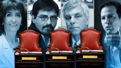 Los tres candidatos a senadores del FpV por la Octava