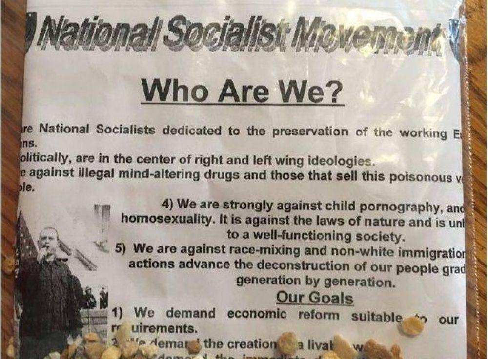 Aparecieron volantes de odio en el estado de Florida, Estados Unidos