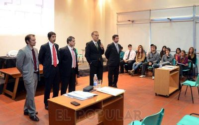 Olavarría fue sede de un simulacro de Juicios por Jurados