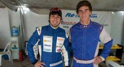 Nico Cazal probó en Alta Gracia el Fórmula Renault 2.0