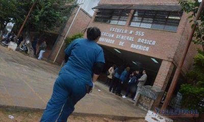 Una niña llevó gas pimienta a la escuela, sus compañeros lo arrojaron y afectó a 32 chicos