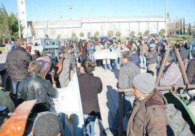 Mucho malestar entre los productores por la indiferencia de Nación