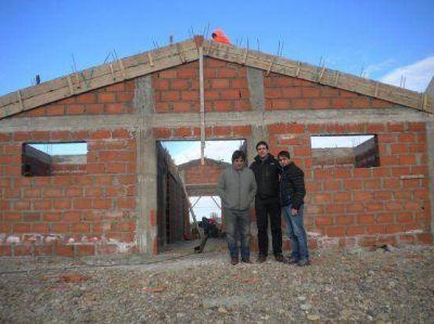 Medvedovsky, Lier y Vasquez recorrieron el predio donde construyen el Centro Cívico