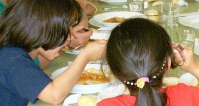 Reducen a la mitad los fondos destinados a comedores escolares