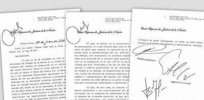 La Corte benefició al Banco del Chubut en una millonaria demanda de empleados