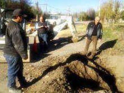 F. Oro: Camuzzi habilitó obra de gas en Isla 10