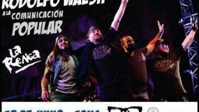 La Renga llega a La Plata para recibir el Premio Rodolfo Walsh