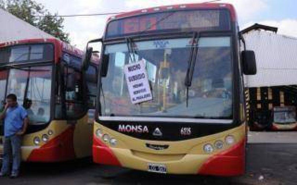 Paro en la Línea 60: Protestas en Puente La Noria y Puente Saavedra