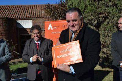 El Ministro Collia visitó Baradero