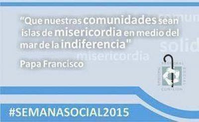 Mar de Plata: #SemanaSocial2015