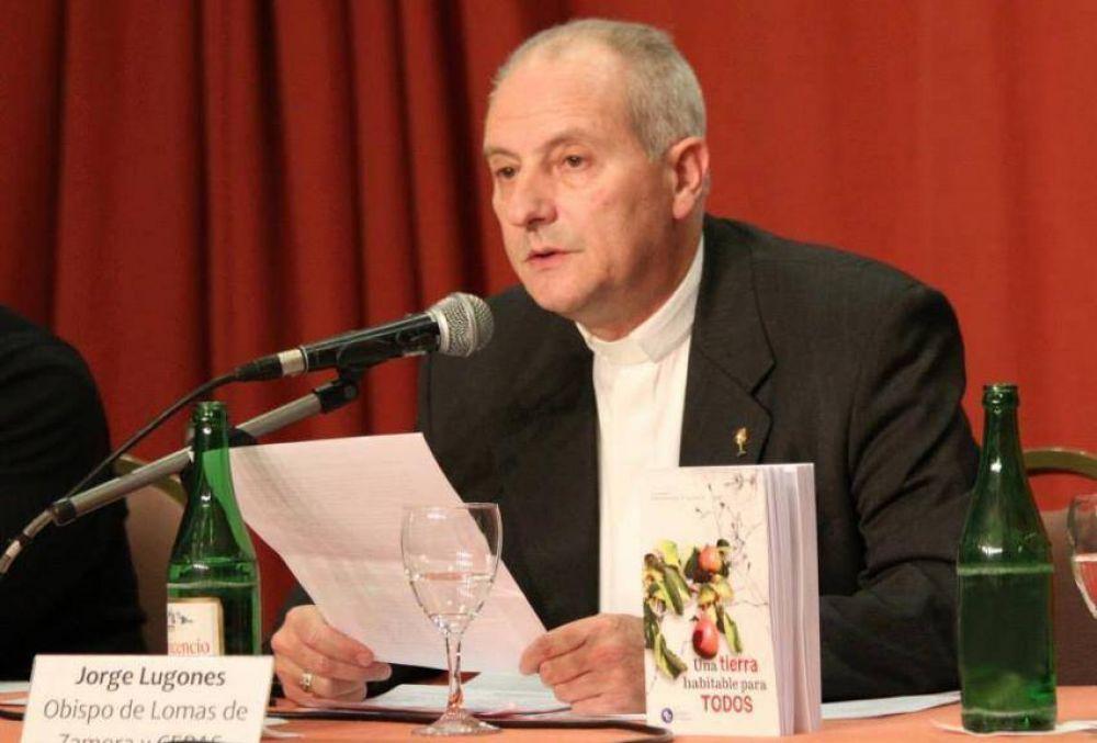 """Mons. Lugones y la encíclica: """"El Papa clama que escuchemos el grito de la creación"""""""
