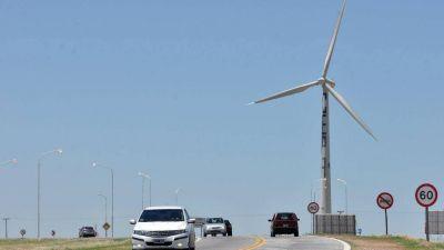 Dicen que el gobierno nacional piensa invertir en un parque eólico cerca de Bahía Blanca