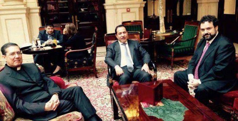 El CJL se reunió con líderes religiosos en París
