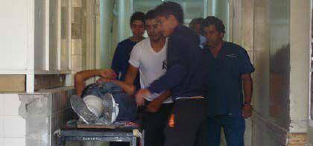 Violento vuelco en Chaupi Pozo dejó cuatro heridos de gravedad