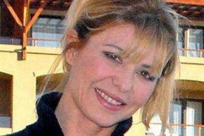 Karina en Ushuaia, una foto polémica