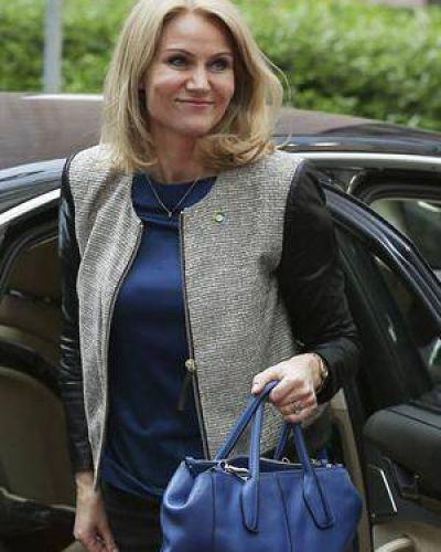 Renunci� la primera ministra de Dinamarca