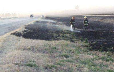 El fuego avanza en La Calera y amenaza a algunas viviendas