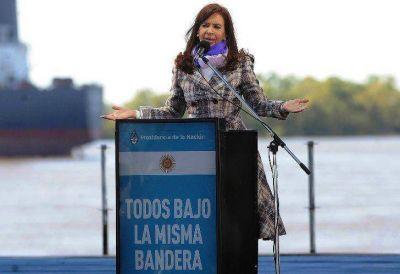Cristina hará una cadena nacional por el Día de la Bandera