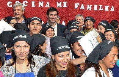 Más de 250 personas del interior se capacitaron en el programa inclusivo Mi cocina, Mi familia