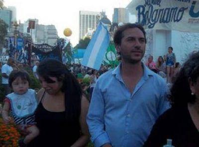 La Plata: La irrupci�n de Esteban Concia fractur� el armado local de La C�mpora