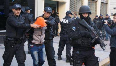 Desbarataron una banda narco y secuestraron 200 kilos de cocaína