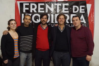 Gustavo Vicini, el candidato del PTS en las PASO del Frente de Izquierda