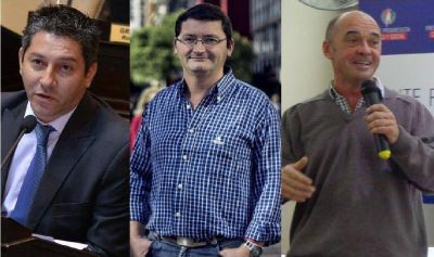 Frente Progresistas: Farías, Schütrumpf y Rodríguez, a internas